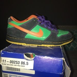 """new arrivals aac85 c7a13 Nike Shoes - Nike SB low dunk— """"Green Spark"""""""